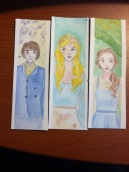 Marius from Les Mis, Cinderella, and Belle