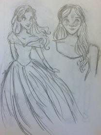 More Cinderella sketches