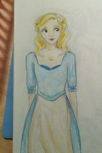 Cinderella from the recent live-action film
