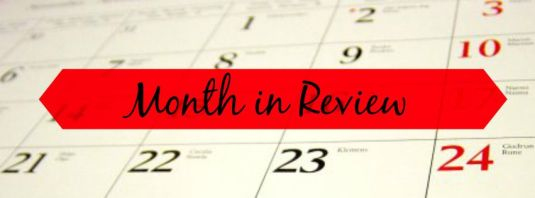Month in Review blog heading