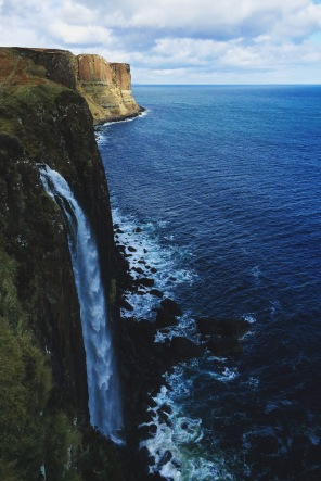 Kilt Rock and waterfall