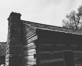 Slave cabin at the Hermitage